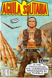 Cover Thumbnail for Aguila Solitaria (Editora Cinco, 1976 ? series) #318