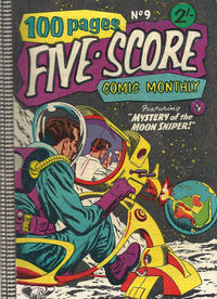 Cover for Five-Score Comic Monthly (K. G. Murray, 1958 series) #9