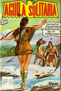 Cover Thumbnail for Aguila Solitaria (Editora Cinco, 1976 ? series) #179