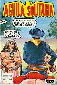 Cover Thumbnail for Aguila Solitaria (Editora Cinco, 1976 ? series) #190