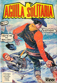 Cover Thumbnail for Aguila Solitaria (Editora Cinco, 1976 ? series) #214