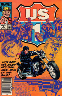 Cover Thumbnail for U.S. 1 (Marvel, 1983 series) #6 [Newsstand Edition]
