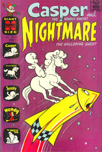 Cover Thumbnail for Casper & Nightmare (Harvey, 1964 series) #17