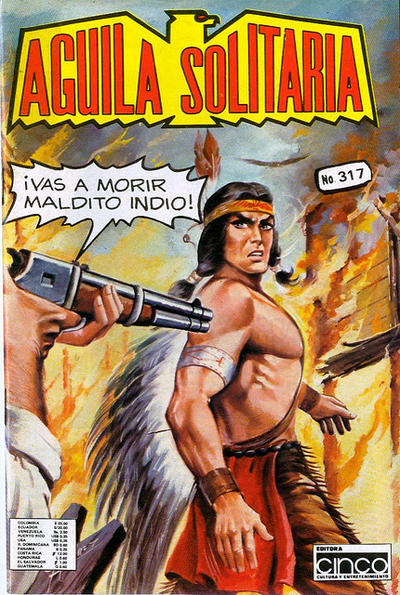 Cover for Aguila Solitaria (Editora Cinco, 1976 ? series) #317
