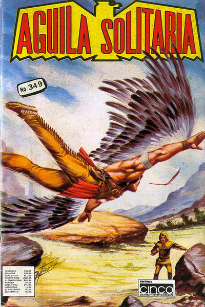 Cover for Aguila Solitaria (Editora Cinco, 1976 ? series) #349