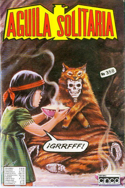 Cover for Aguila Solitaria (Editora Cinco, 1976 ? series) #358
