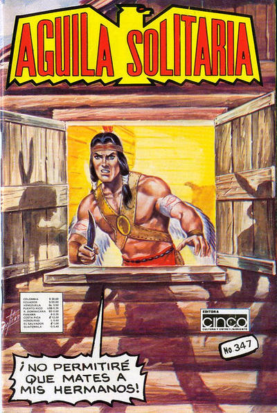 Cover for Aguila Solitaria (Editora Cinco, 1976 ? series) #347