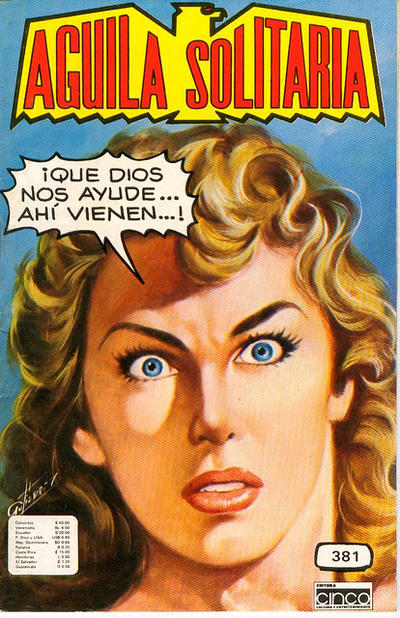 Cover for Aguila Solitaria (Editora Cinco, 1976 ? series) #381