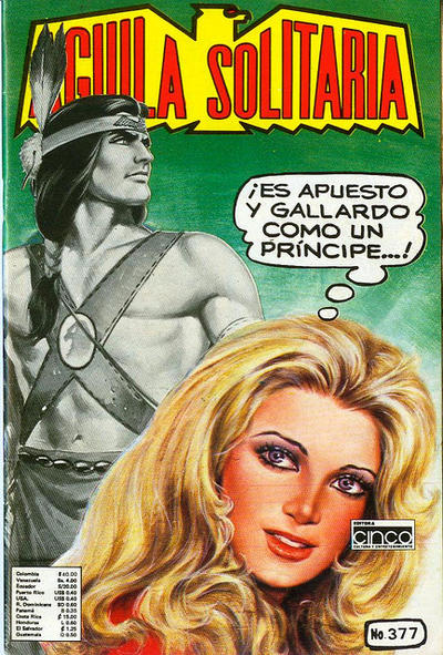 Cover for Aguila Solitaria (Editora Cinco, 1976 ? series) #377