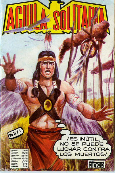 Cover for Aguila Solitaria (Editora Cinco, 1976 ? series) #371