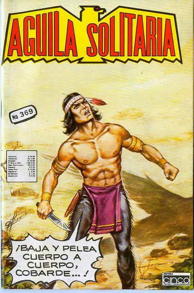 Cover for Aguila Solitaria (Editora Cinco, 1976 ? series) #369