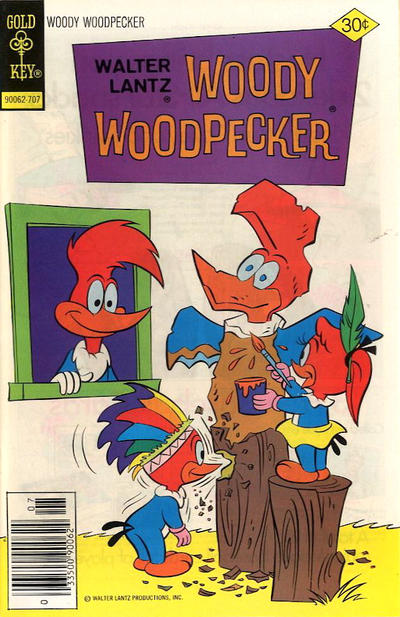 Cover for Walter Lantz Woody Woodpecker (Western, 1962 series) #158 [Whitman]