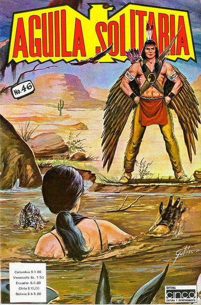 Cover for Aguila Solitaria (Editora Cinco, 1976 ? series) #46