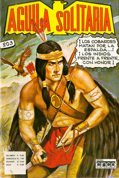 Cover for Aguila Solitaria (Editora Cinco, 1976 ? series) #203