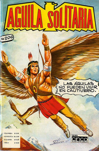 Cover for Aguila Solitaria (Editora Cinco, 1976 ? series) #206
