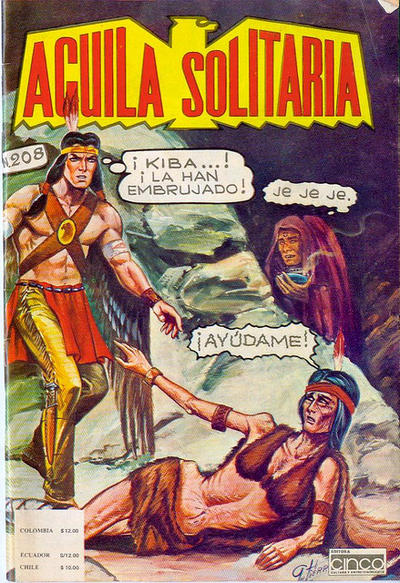 Cover for Aguila Solitaria (Editora Cinco, 1976 ? series) #208