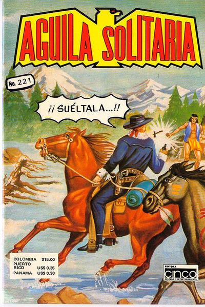 Cover for Aguila Solitaria (Editora Cinco, 1976 ? series) #221