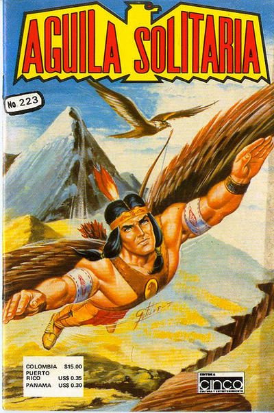 Cover for Aguila Solitaria (Editora Cinco, 1976 ? series) #223
