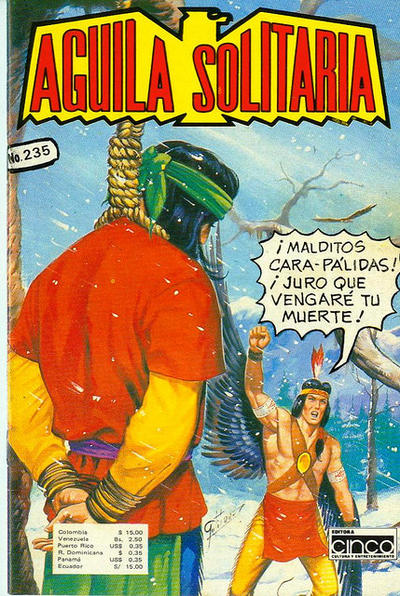 Cover for Aguila Solitaria (Editora Cinco, 1976 ? series) #235