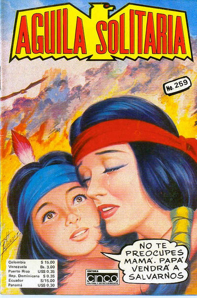 Cover for Aguila Solitaria (Editora Cinco, 1976 ? series) #259