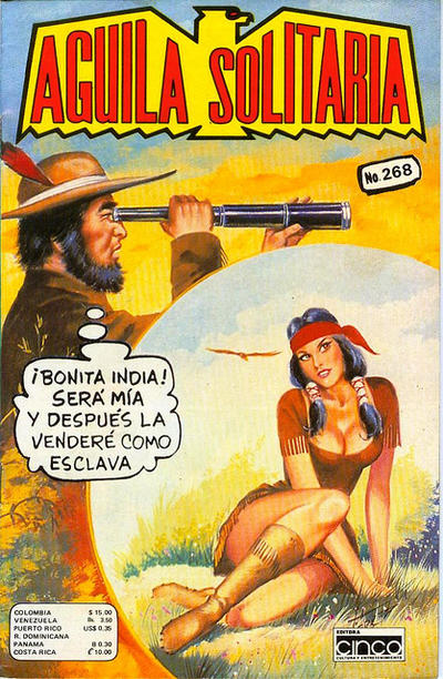 Cover for Aguila Solitaria (Editora Cinco, 1976 ? series) #268
