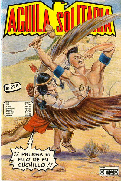 Cover for Aguila Solitaria (Editora Cinco, 1976 ? series) #276