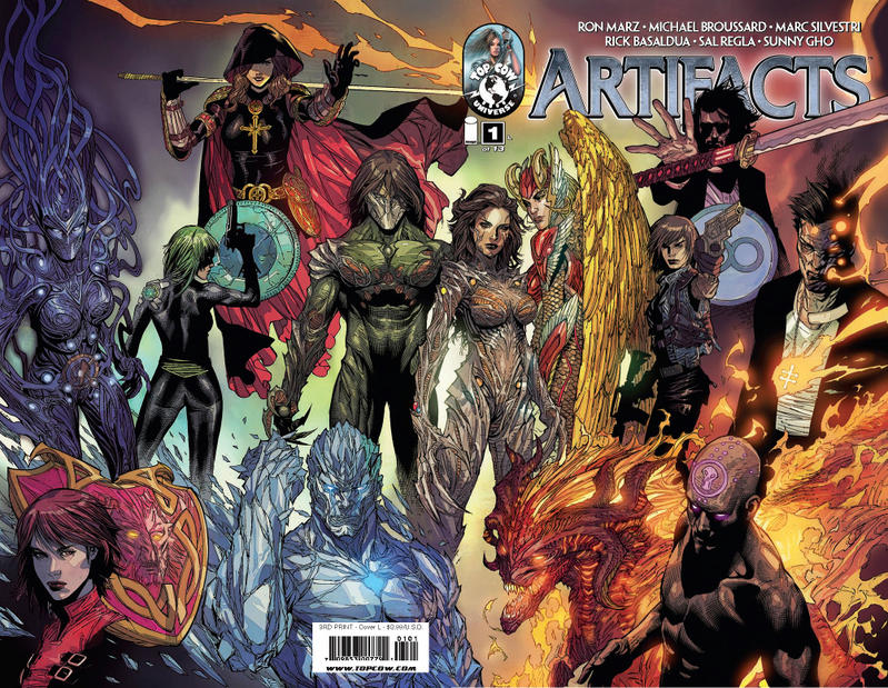 Cover for Artifacts (Image, 2010 series) #1 [Cover I]