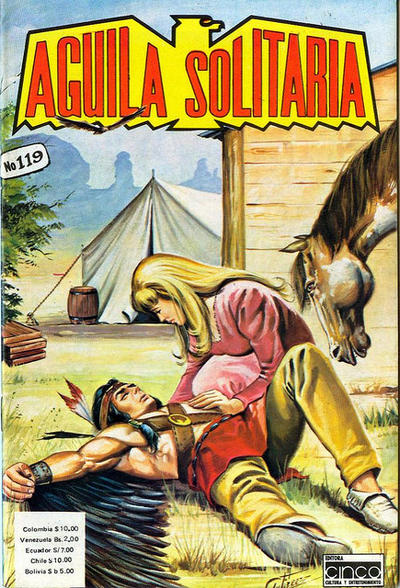 Cover for Aguila Solitaria (Editora Cinco, 1976 ? series) #119