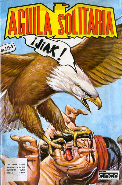 Cover for Aguila Solitaria (Editora Cinco, 1976 ? series) #154