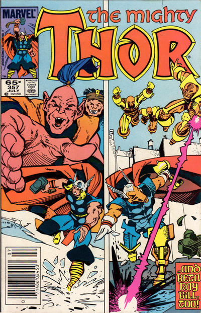 Cover for Thor (Marvel, 1966 series) #357