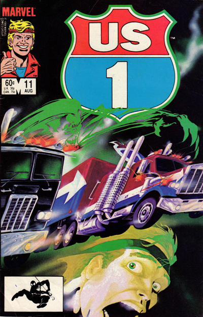 Cover for U.S. 1 (Marvel, 1983 series) #11 [Direct]