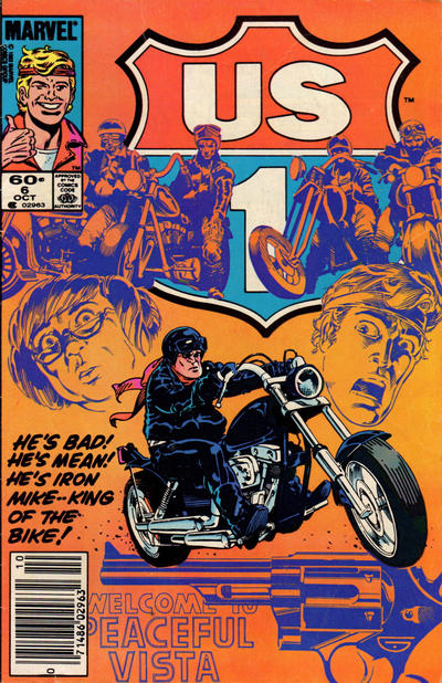 Cover for U.S. 1 (Marvel, 1983 series) #6 [Newsstand Edition]