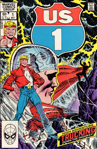Cover for U.S. 1 (Marvel, 1983 series) #1 [Direct]