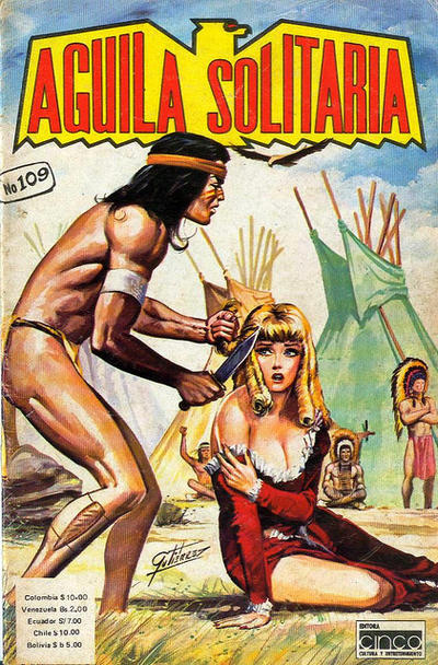 Cover for Aguila Solitaria (Editora Cinco, 1976 ? series) #109