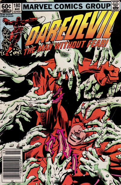 Cover for Daredevil (1964 series) #180 [Direct]