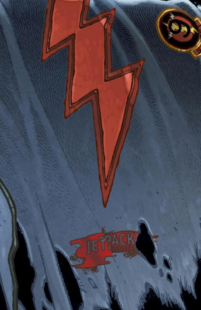 Cover for The Cape (2011 series) #1 [Cover RIA]