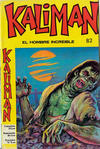 Cover for Kaliman (Editora Cinco, 1976 series) #82