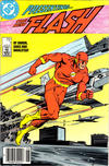 Cover Thumbnail for Flash (1987 series) #1 [Newsstand Edition]