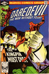 Cover for Daredevil (Marvel, 1964 series) #170 [Direct Sales Edition]