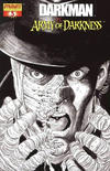 Cover Thumbnail for Darkman vs. The Army of Darkness (2006 series) #3 [George Pérez Black & White Retailer Incentive Variant Cover]
