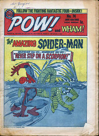 Cover Thumbnail for Pow! and Wham! (IPC, 1968 series) #74