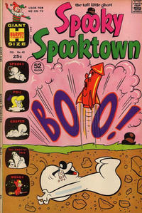 Cover Thumbnail for Spooky Spooktown (Harvey, 1961 series) #43