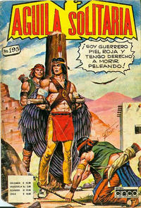 Cover Thumbnail for Aguila Solitaria (Editora Cinco, 1976 ? series) #195
