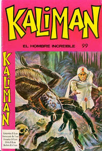 Cover Thumbnail for Kaliman (Editora Cinco, 1976 series) #99