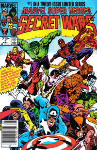 Cover Thumbnail for Marvel Super-Heroes Secret Wars (Marvel, 1984 series) #1 [Newsstand Edition]
