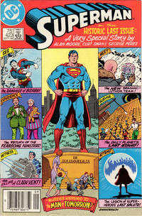 Cover Thumbnail for Superman (DC, 1939 series) #423 [Newsstand]