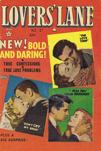 Cover Thumbnail for Lovers' Lane (Super Publishing, 1952 series) #27
