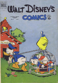 Cover Thumbnail for Walt Disney's Comics and Stories (Wilson Publishing, 1947 series) #v11#1 (121)