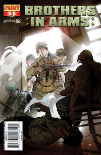 Cover Thumbnail for Brothers in Arms (Dynamite Entertainment, 2008 series) #3 [Cover A]