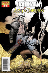 Cover Thumbnail for Darkman vs. The Army of Darkness (Dynamite Entertainment, 2006 series) #2 [Nick Bradshaw Reorder Variant Cover]